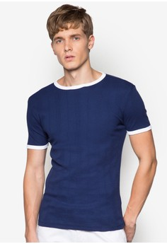 Variated Rib T-Shirt