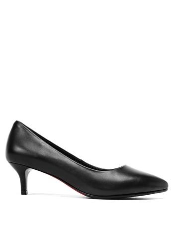 Twenty Eight Shoes black Leather Uniform Pointy Pumps 1656 B448BSHCBD6B26GS_1