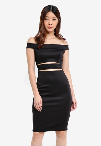 a86f57d9d0 Kitschen black Cut Out Pencil Dress 6ADF9AABA55A95GS 1