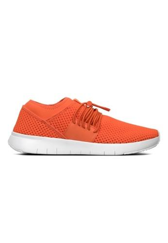 FitFlop orange FitFlop Airmesh Lace Up Sneaker (Neon Orange) 99450SHF985681GS_1