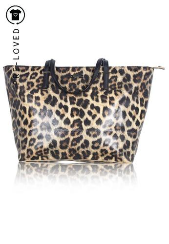 Kate Spade multi Pre-Loved kate spade Leopard Print Cedar Street Harmony Tote 12655AC9C43348GS_1
