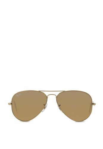 Ray-Ban Aviator Large Metal RB3025 Sunglasses RA370GL56RZRSG_1