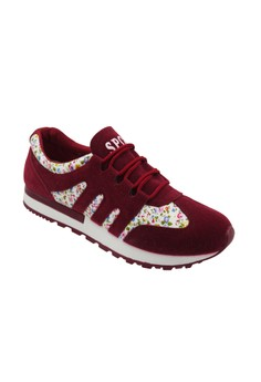 Sport Low Cut High Quality Sneakers Women's Running Shoes A55 (Maroon)
