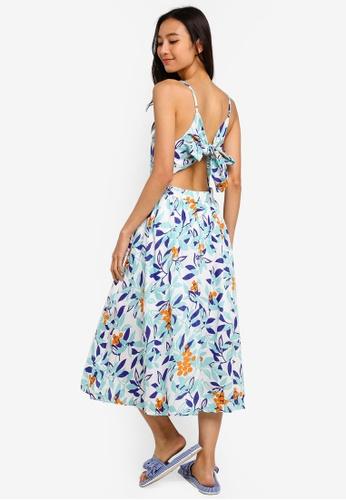 6da1c2d1fc6d Shop NAIN Tropical Print Cami Dress Online on ZALORA Philippines