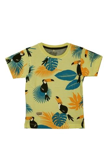 ORKIDS WEAR multi ORKIDS Baju Kaos Anak Trop Yellow Baby E375CKAB2AA4B5GS_1