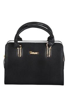 New Korean Style Fulijr Leatherette Handbag with Shoulder Strap