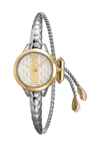 Buy Just Cavalli Just Cavalli Logo Quartz Watch JC1L034M0065  f484388c20