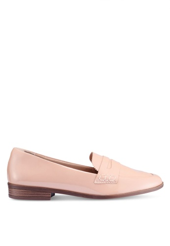 Anacapri 米褐色 漆皮樂福鞋 41BBASH5B56D20GS_1