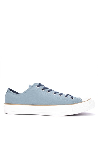 Converse blue Chuck Taylor Collegiate Colors Sneakers B329ASH0FC7AE8GS_1