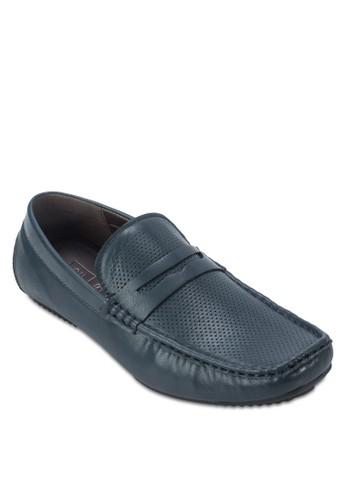 沖孔仿皮莫卡辛鞋, 鞋,esprit服飾 船型鞋