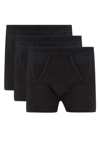 三入彈性四角內褲esprit台灣outlet, 服飾, 內褲