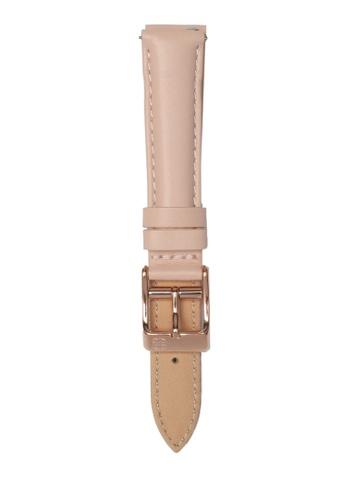 Ruby Lane pink Ruby Lane 16mm Leather Strap 47A80AC76875A2GS_1