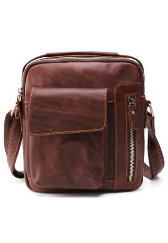 Twenty Eight Shoes Handmade Vintage Leather Sling Bag 6435 6000FAC93E961BGS_1