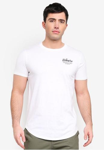 4f065ba507cd4 Shop Hollister Print Logo T-Shirt Online on ZALORA Philippines