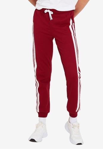 LC Waikiki red Stripe Detailed Sweatpants 6921FAA2B43BEBGS_1