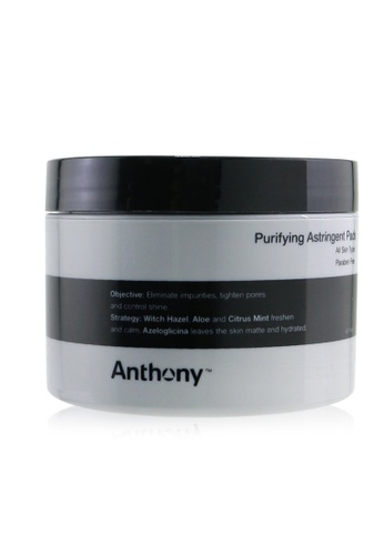 ANTHONY ANTHONY - Logistics For Men Purifying Astringent Pads (For All Skin Types) 60pads 4FB72BE54ED747GS_1