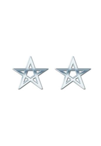 SC Tom Silver silver Star flat Stud Earring SC872AC75XMAPH_1