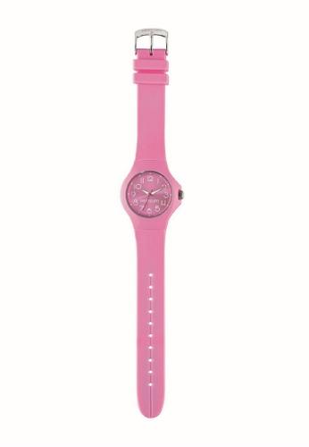 Morellato pink Colours Quartz Watch R0151114537 Yellow Rubber Strap C332FACF026FB7GS_1