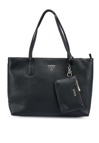 Guess black Sandrine Tote Bag 382E8ACD59E9F3GS_1