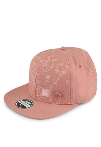Puma pink Floral Flat Brim Cap PU549AC0SWB0MY_1