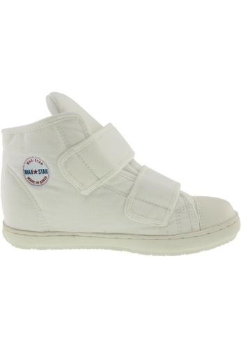 Maxstar white Maxstar Women's 203 Dual Velcro Hidden Heel Canvas Casual Shoes US Women Size MA164SH56PVZSG_1