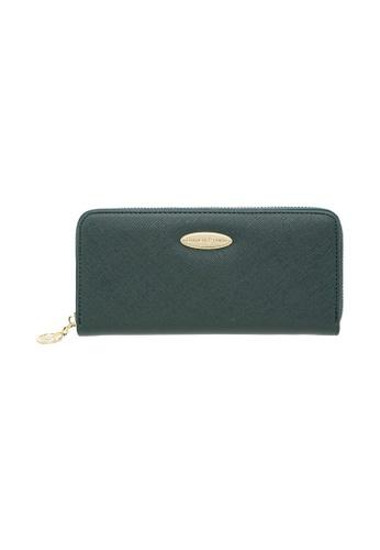 British Polo green British Polo Downward Zipped Wallet 1111DAC5A4C414GS_1