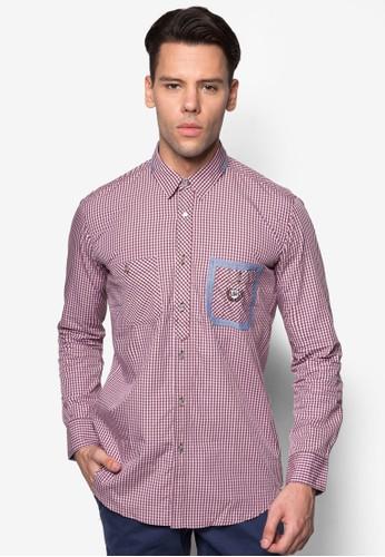 長袖襯衫, 服飾, 印esprit outlet 桃園花襯衫