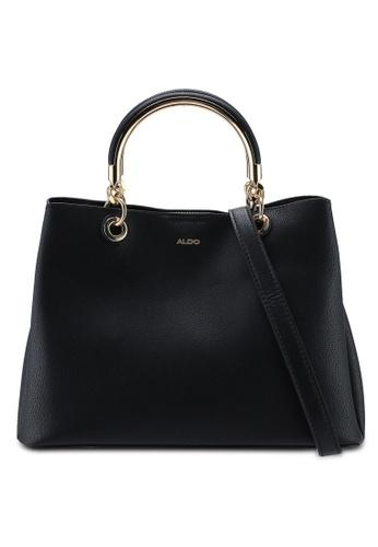 ALDO black Surgoine Structured Tote Bag D7287AC627041DGS_1