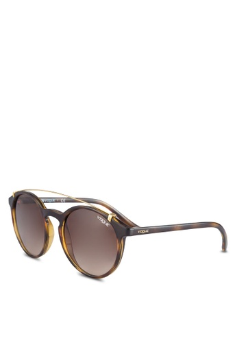 Vogue brown VO5161S Sunglasses VO655GL13VVAMY_1