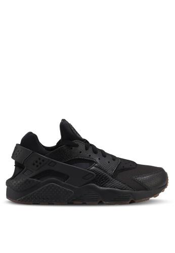 Nike black and gold Nike Air Huarache Shoes NI126SH0STQPMY_1