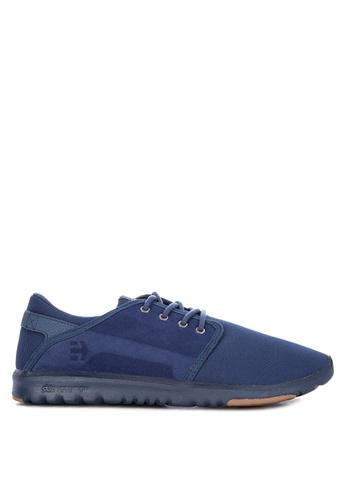 Etnies navy Scout Sneakers C3AAESH524F415GS_1
