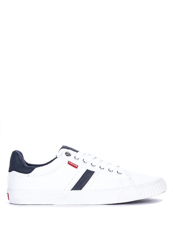Levi's white Skinner Sneakers 09EFCSH51BE634GS_1