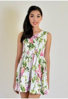 Aw Mini Printed Dress