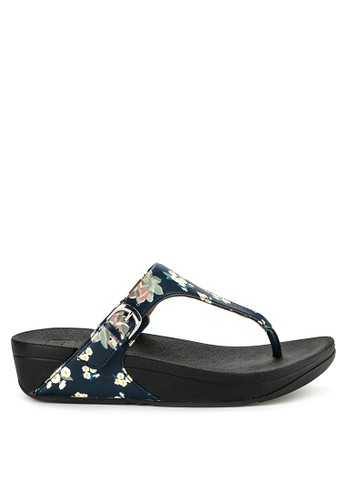 b2a1b462dcd62c Fitflop black and multi The Skinny Dark Floral Print A8853SHAD9B4E5GS 1