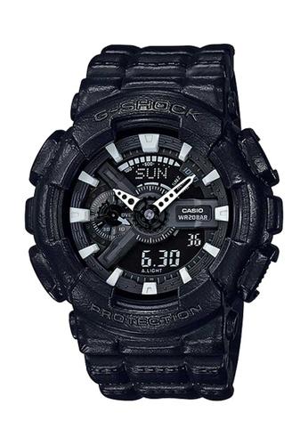 CASIO black Casio G-Shock Black Resin Watch 76022ACFC7ABA1GS_1