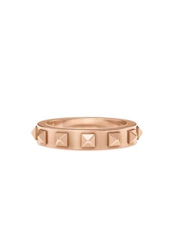 Aquae Jewels pink Ring Rich & Bold Peaks – 18K Gold - Rose Gold C0521AC5D3F2F2GS_1