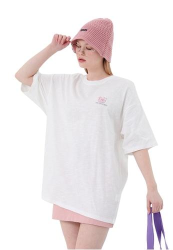 Twenty Eight Shoes Stick Figure Bear Printed Short T-shirt HH1113 301A8AA1107F7EGS_1