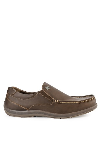 Watchout! Shoes brown Semi Moccasin 31C74SHE8E7024GS_1