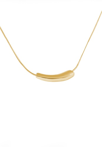 Twenty Eight Shoes gold VANSA Simple Pendant Necklace VAW-N352 3AB1BAC0478C42GS_1
