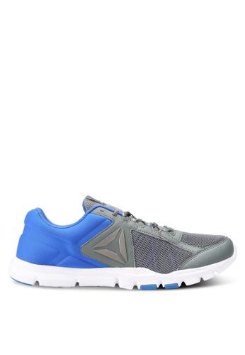 Reebok grey and blue Yourflex Train 9.0 MT Shoes RE691SH0RJ44MY_1