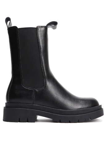 Twenty Eight Shoes Faux Leather Chelsea Boots(Long style)YLT307-BV1-1 1CD6FSH67E83D4GS_1