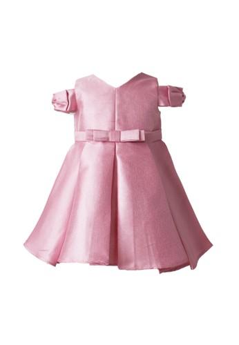 Pretty Girl Collection pink Bernadet Lovely Dress 11E60KA03DB606GS_1