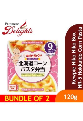 Prestigio Delights black Kewpie Niko Niko Box NR-5 Hokkaido Corn Pasta 120g Bundle of 2 70ADCESDBABA4AGS_1