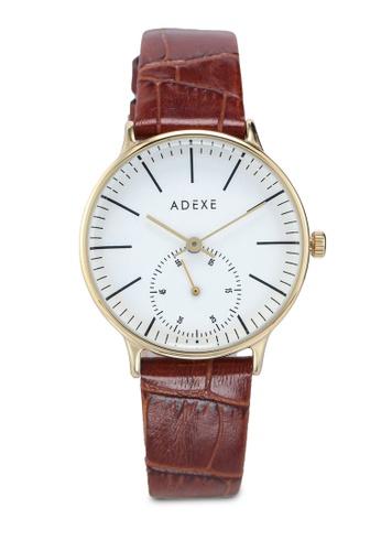 ADEXE Watches 褐色 Freerunner 手錶 6C63AAC86E7F08GS_1