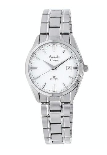 Alexandre Christie silver Alexandre Christie Jam Tangan Wanita - Silver White - Stainless Steel - 8515 LDBSSSL E0DD2ACFE4FDE2GS_1