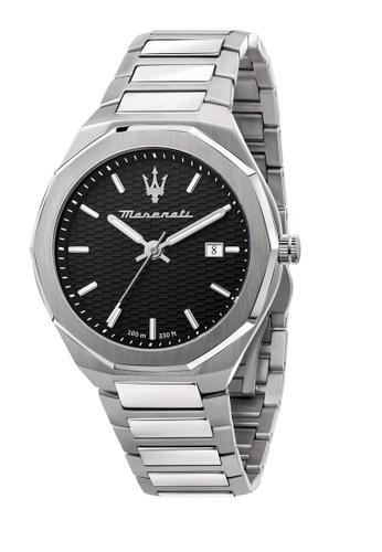 Maserati silver Maserati Stile Silver Metal Band Watches R8853142003 CC6EEACE52BA45GS_1