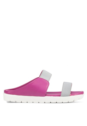 Le Sandee purple Casual Sandals LE906SH49AZQMY_1