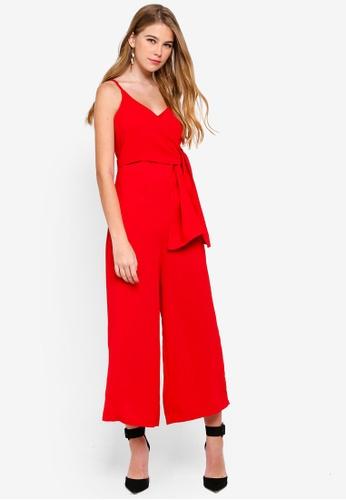 e9f8dce3f069 Buy MISSGUIDED Tie Side Culotte Jumpsuit Online on ZALORA Singapore
