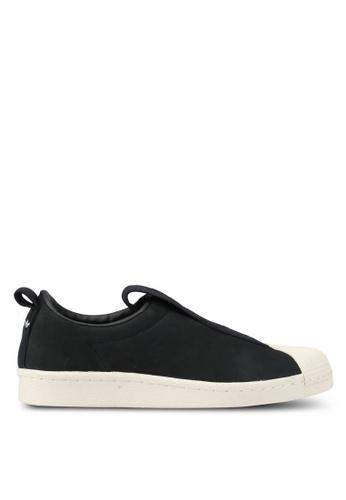 adidas black adidas originals superstar bw3s slipon w AD372SH0SSO4MY_1