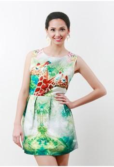 Lolita Embossed Dress